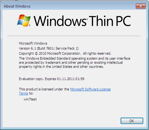 Windows Thin PC aka WinTPC